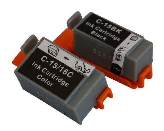 Tintenpatronen Set kompatibel mit Canon BCI-15