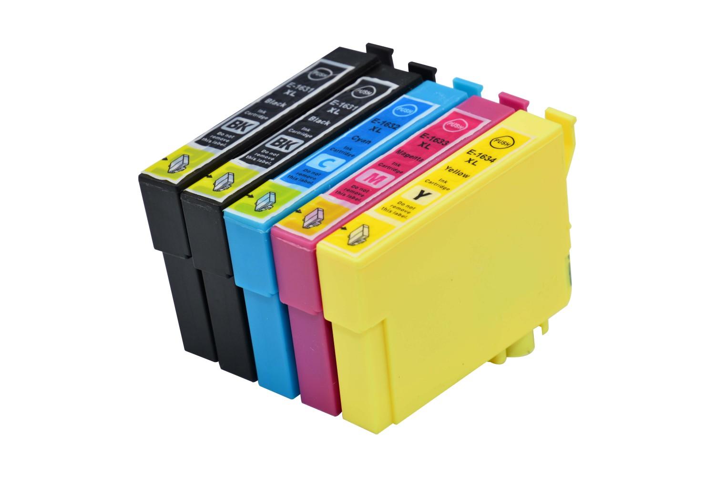 Tintenpatronen Set kompatibel mit Epson C13T16314010 / M / C / Y