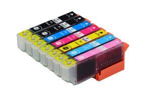 Tintenpatronen Set kompatibel mit Epson C13T24314010 / M / LM / C / LC / Y / 24XL