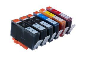 Set des cartouches d'encre compatible pour HP 364XL BK / C / M / Y