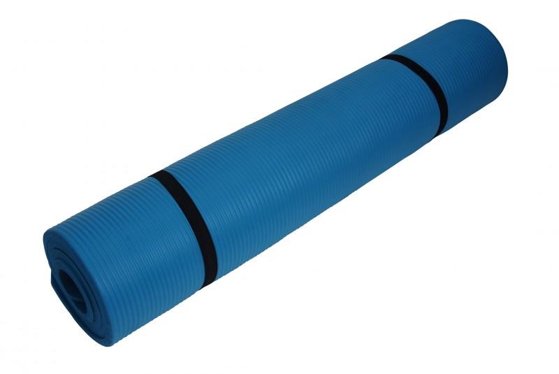 Yogamatte blau 190 x 100 x 1.5 cm