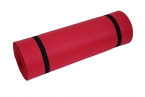 Tapis de yoga rouge 190x60x1,5 cm