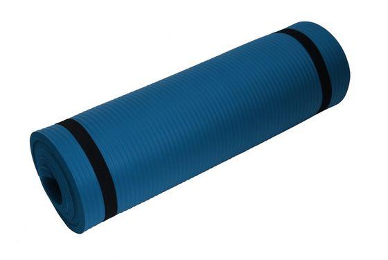 Tapis de yoga bleu 190x60x1,5 cm