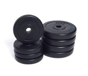 Hantelscheiben 4 x 2.5 kg + 4 x 1.25 kg Set