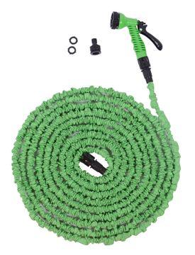 Tuyau d'arrosage flexible 22,5 m vert