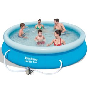 Bestway Swimming Pool Set mit Filterpumpe 366 x 76 cm