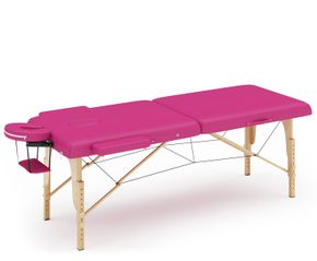 Massageliege 2-Zonen pink