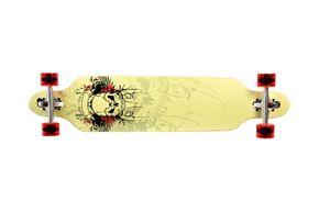 Longboard Skateboard SKULL