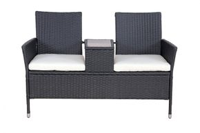 Love Seat ROSE Rattan Garnitur