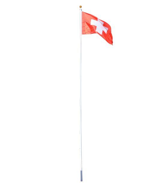 Fahnenstange 6.3 m mit CH-Fahne