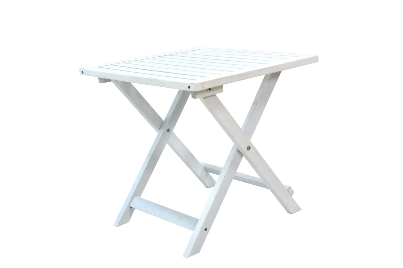 Table de jardin pliante blanc | Magasin en ligne Gonser
