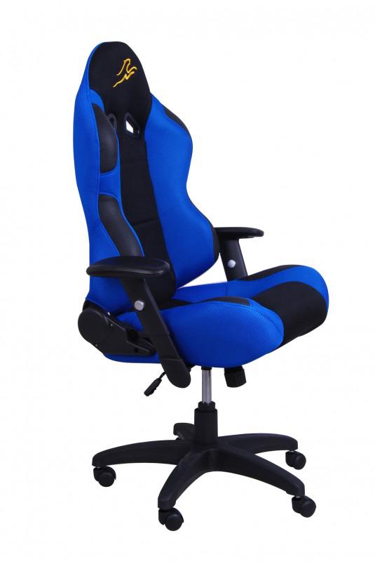 Bürostuhl JIM blau schwarz