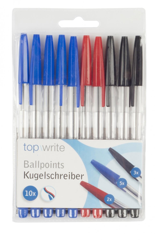 Kugelschreiber Set 10-teilig