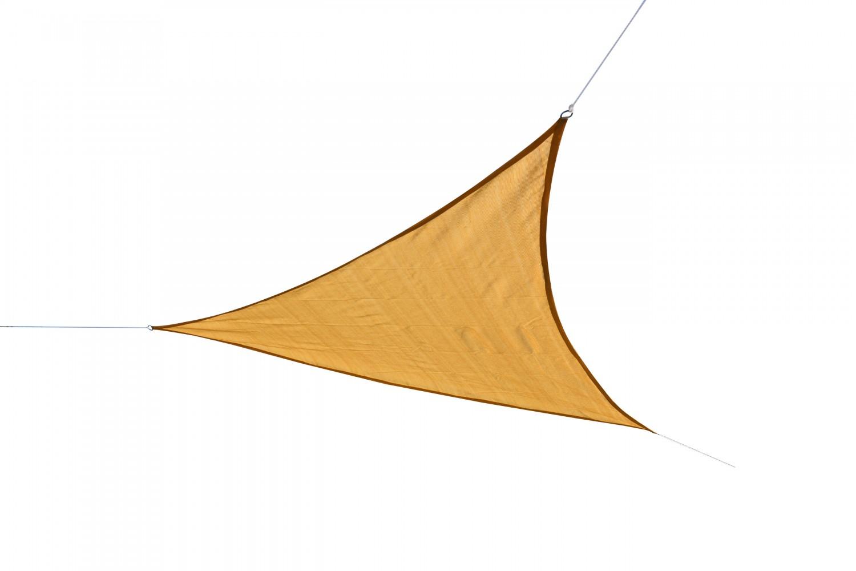 voile d 39 ombrage triangle beige magasin en ligne gonser. Black Bedroom Furniture Sets. Home Design Ideas
