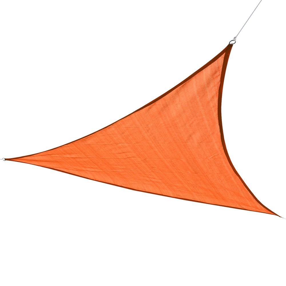 Sonnensegel Dreieck 5 x 5 x 5 m orange