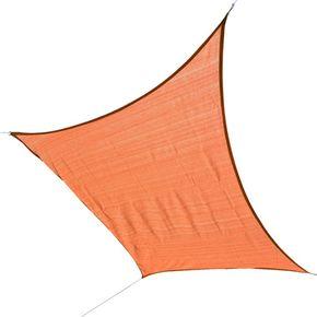 Voile d'ombrage 3 x 2 m orange