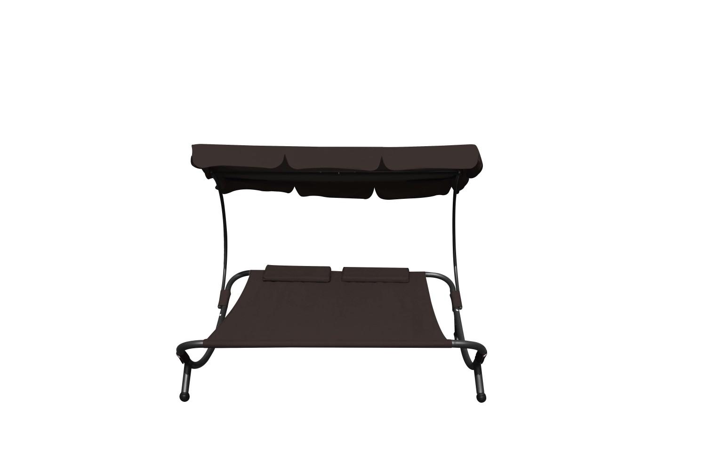 2 personen sonnenliege braun online shop gonser. Black Bedroom Furniture Sets. Home Design Ideas