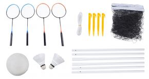 Volleyball + Badminton Set 9-teilig