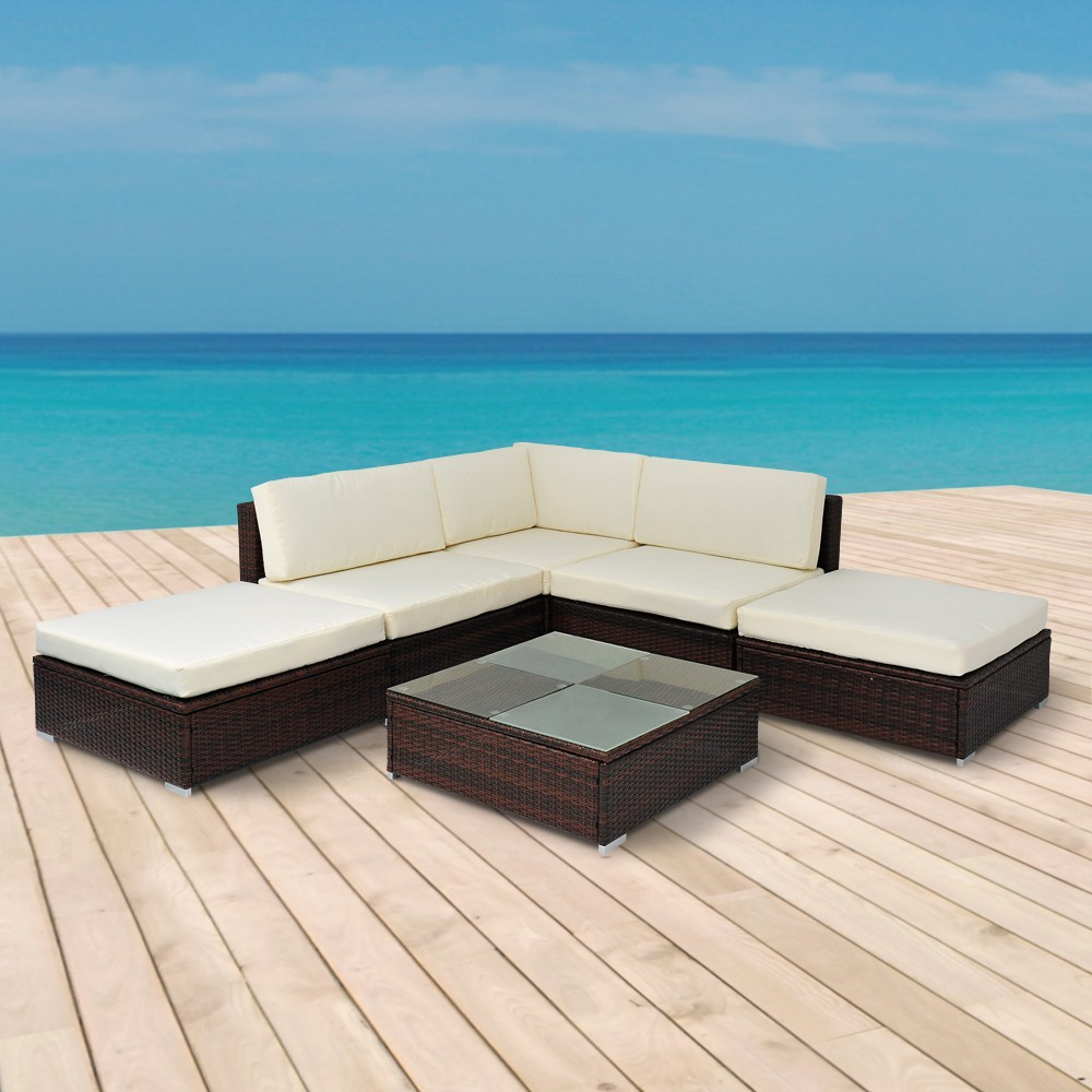 gartenm bel rattan lounge palma online shop gonser. Black Bedroom Furniture Sets. Home Design Ideas