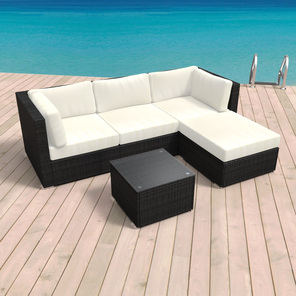 rattan garnitur gartenm bel cuba online shop gonser. Black Bedroom Furniture Sets. Home Design Ideas
