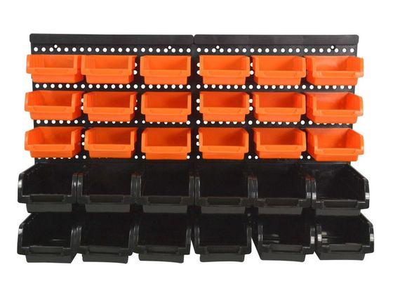 Stapelboxen Wandregal Werkstatt 31-teilig