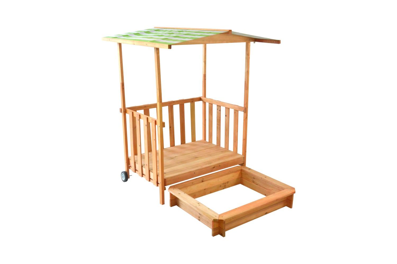 bac sable avec porche magasin en ligne gonser. Black Bedroom Furniture Sets. Home Design Ideas