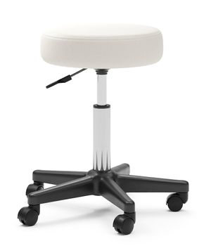 Tabouret de direction blanc