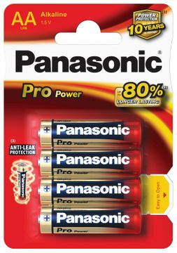Panasonic Pro Power LR6 AA batterie 4 pcs
