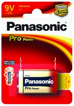 Panasonic Pro Power 6LR61 9V batterie