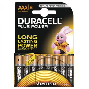 DURACELL Plus Power AAA batterie MN2400 8 pcs