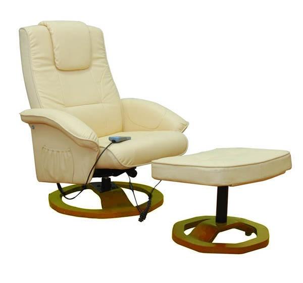 Relaxsessel mit Massagefunktion beige