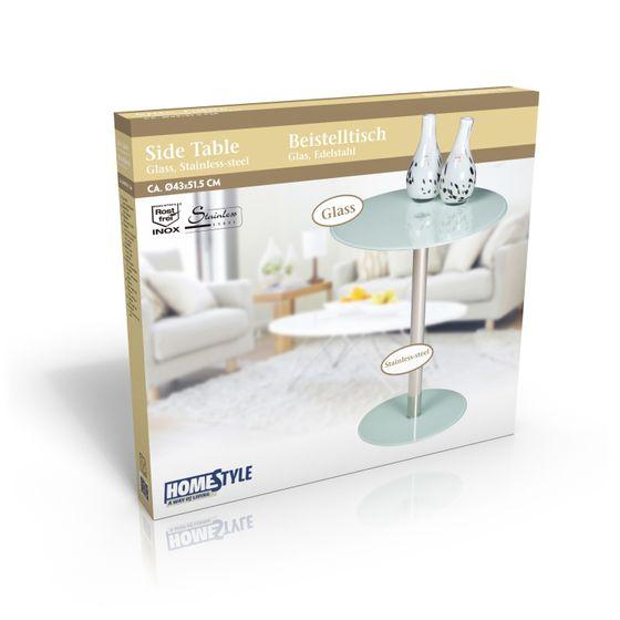 petite table en verre ronde magasin en ligne gonser. Black Bedroom Furniture Sets. Home Design Ideas