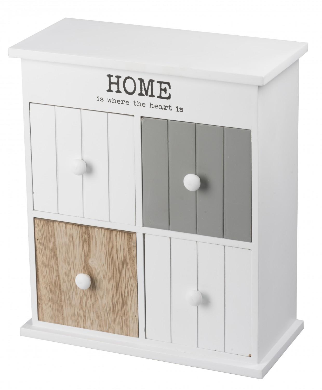 armoire monday avec 4 tiroirs magasin en ligne gonser. Black Bedroom Furniture Sets. Home Design Ideas