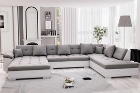 Sofa ARIA links weiss