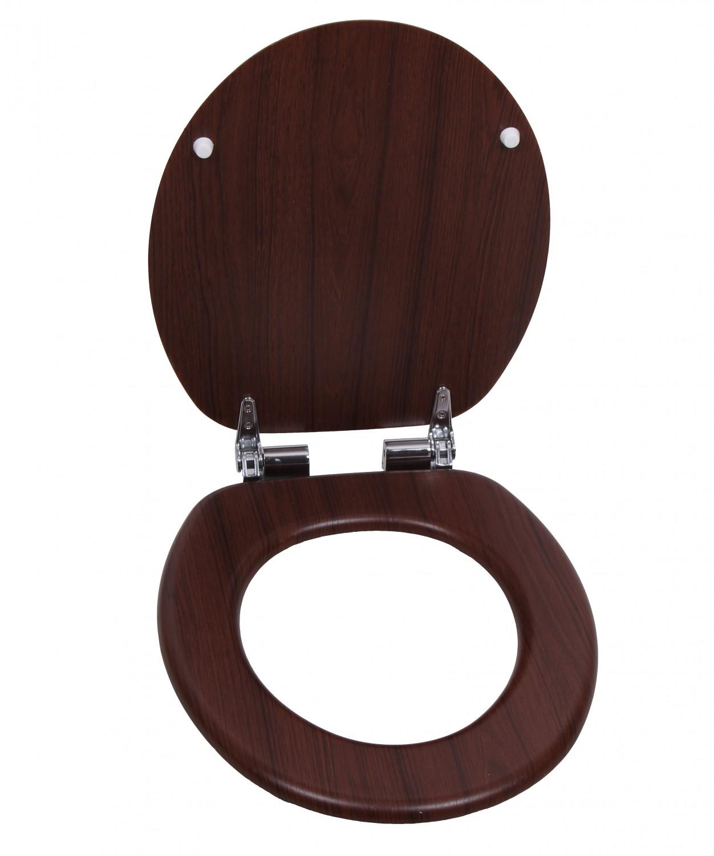 Toilettensitz WC-Deckel Holzoptik | Online Shop Gonser
