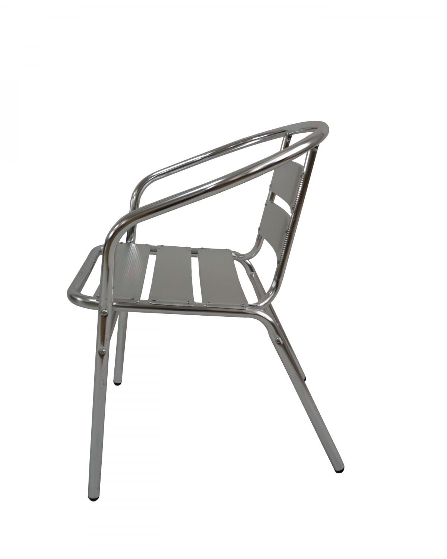 chaise en aluminium empilable magasin en ligne gonser. Black Bedroom Furniture Sets. Home Design Ideas