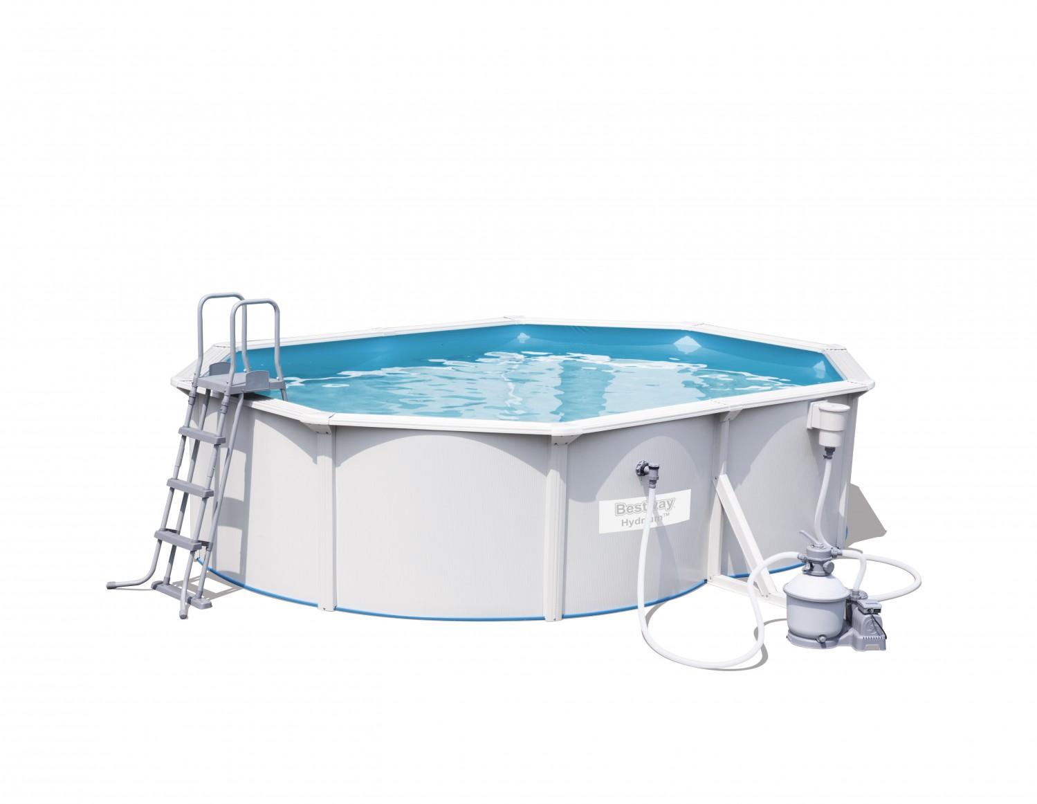 bestway swimming pool oval 500 x 360 x 120 cm online shop gonser. Black Bedroom Furniture Sets. Home Design Ideas