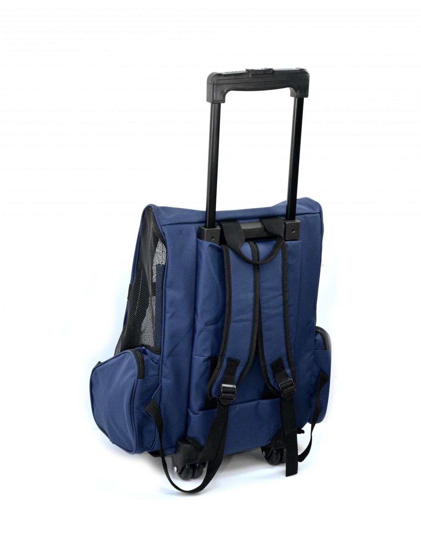 valise de transport pour animaux domestiques bleu magasin en ligne gonser. Black Bedroom Furniture Sets. Home Design Ideas
