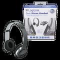 Stereo High Quality Headset schwarz