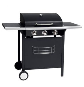 Grill à gaz BBQ 3 brûleurs