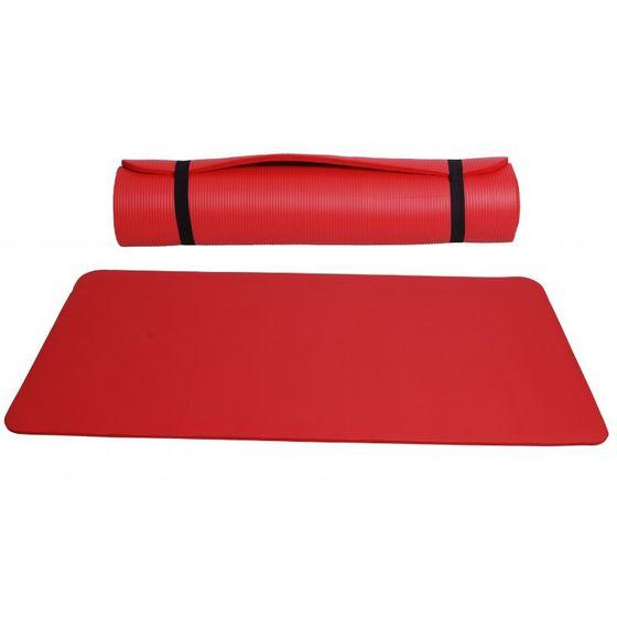 Yogamatte rot 190 x 100 x 1.5 cm