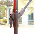 Ampelschirm mit LED 300 cm rot