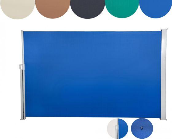 Seitenmarkise 180 x 300 cm blau