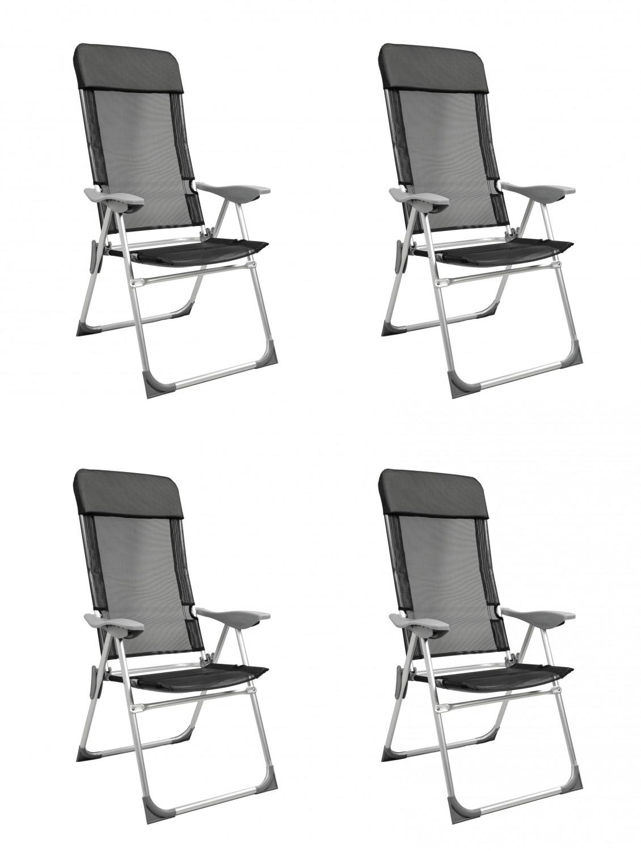 lot des chaises pliantes noires 4 pcs magasin en ligne gonser. Black Bedroom Furniture Sets. Home Design Ideas