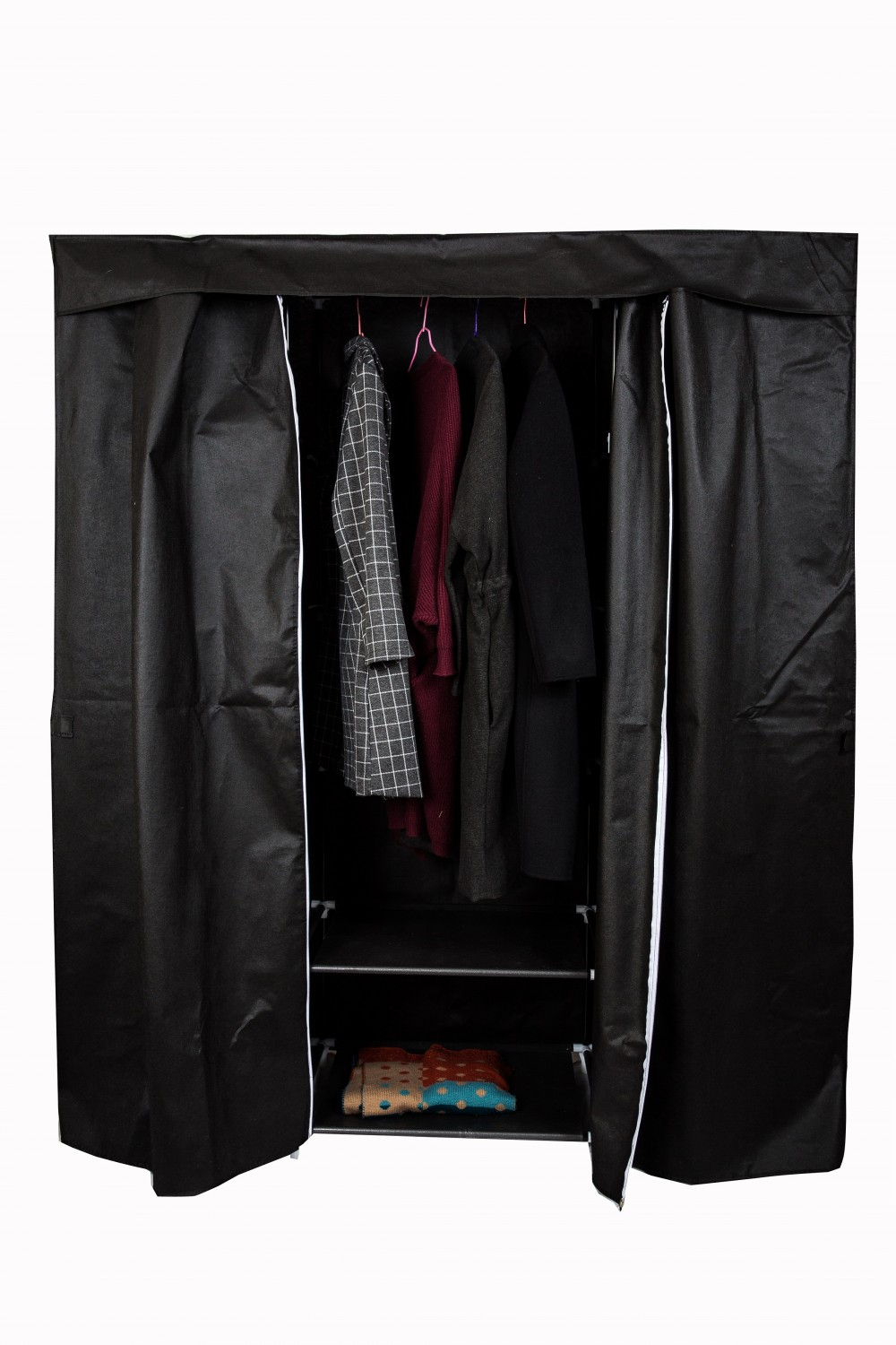 armoire de rangement noir magasin en ligne gonser. Black Bedroom Furniture Sets. Home Design Ideas