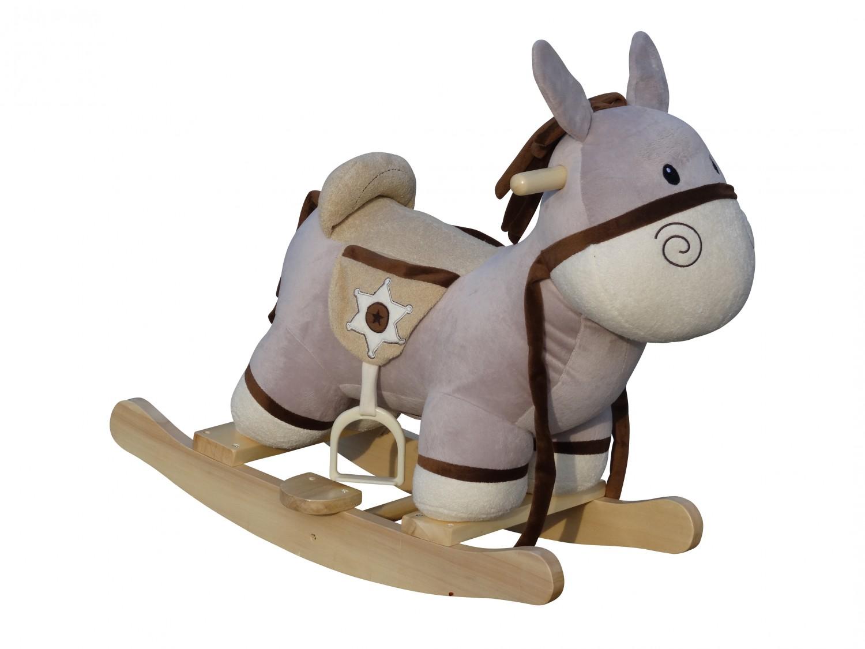 bascule pour enfants cheval en peluche magasin en ligne. Black Bedroom Furniture Sets. Home Design Ideas
