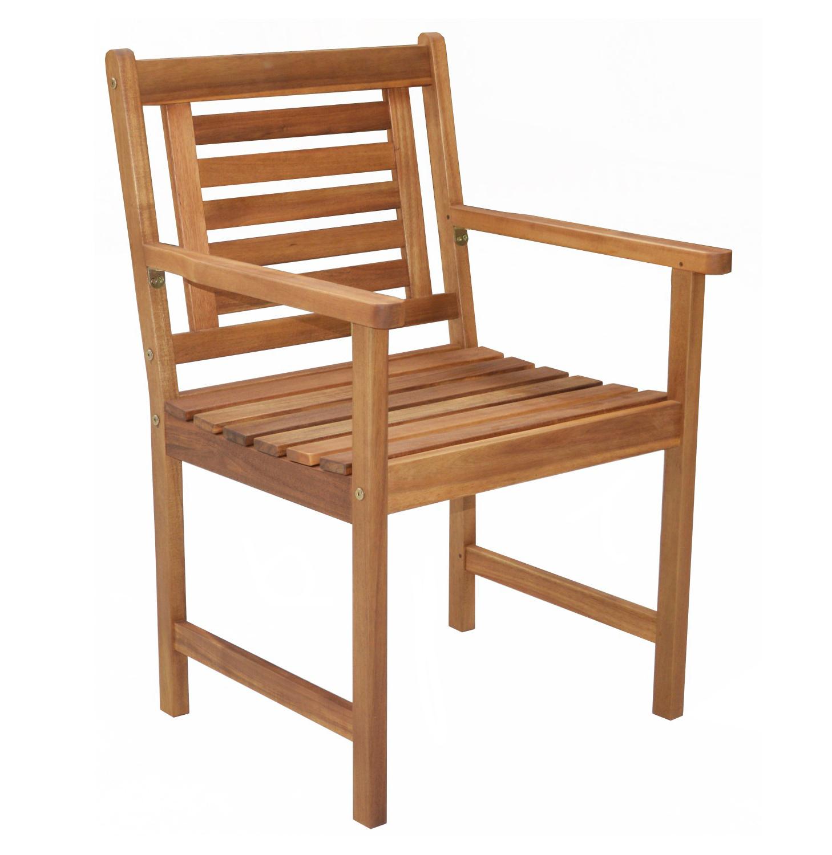 Stuhl aus Akazienholz