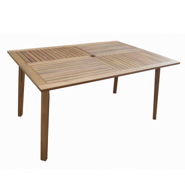 salon en bois d 39 acacia table et 4 chaises magasin en ligne gonser. Black Bedroom Furniture Sets. Home Design Ideas