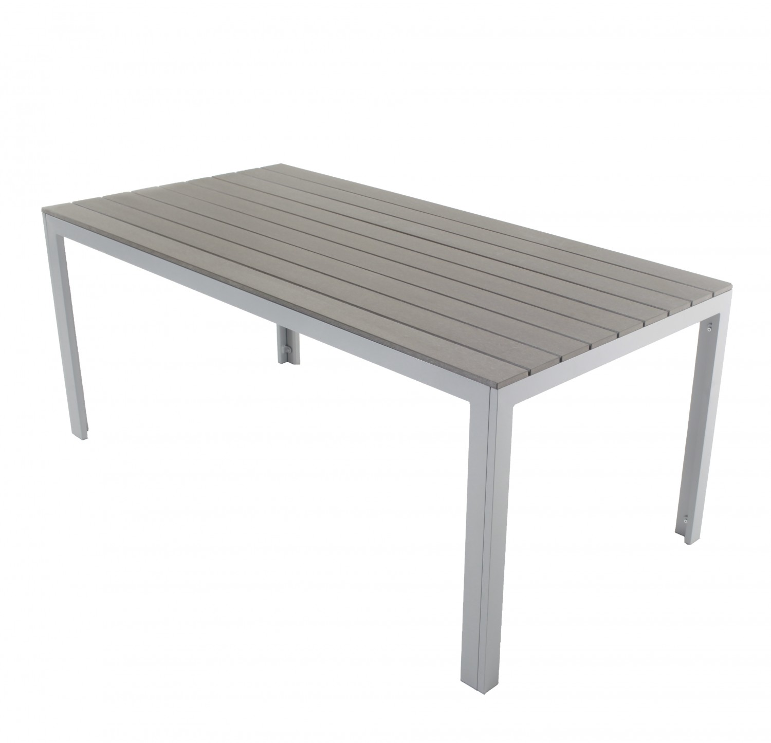 Gartentisch 180 x 90 cm grau online shop gonser for Tisch iphone design