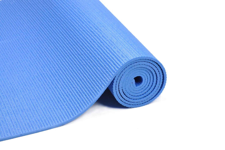 Yogamatte blau 173 x 61 x 0.4 cm